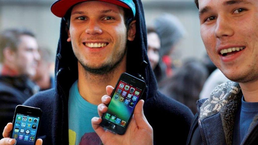 Se desencadena la locura por conseguir el iPhone 5