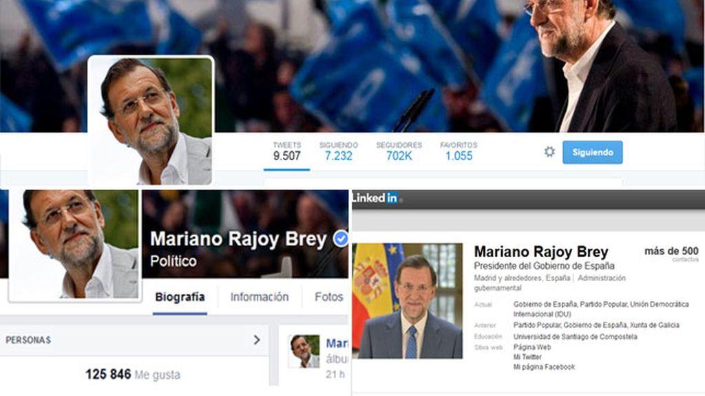 Mariano Rajoy, el político español más influyente en las redes sociales