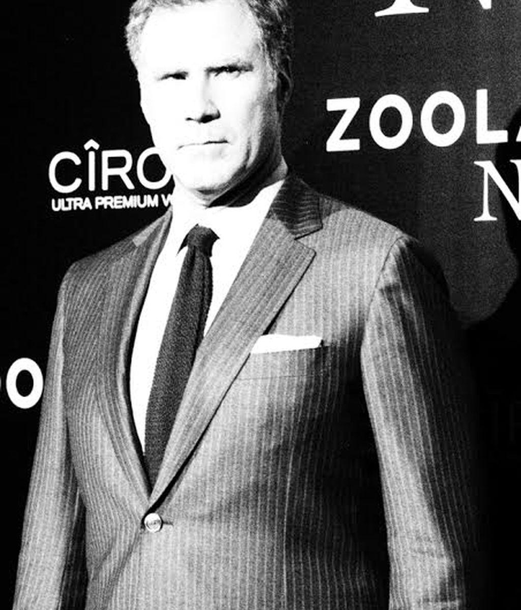 Will Ferrell no cambió el gesto en todo el photocall
