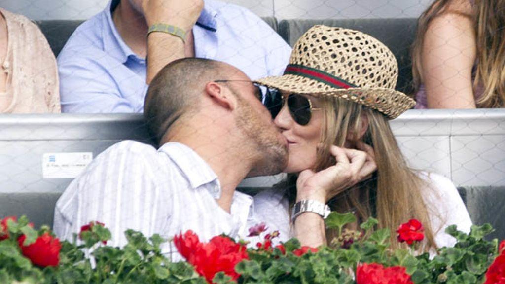 Amaia Montero estrena novio en el tenis