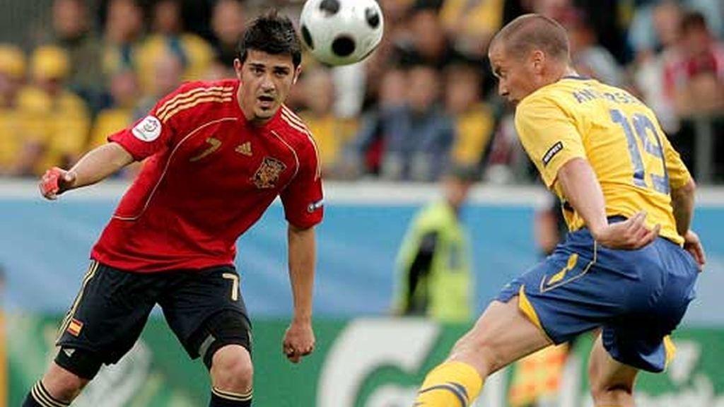 Villa contra Daniel Andersson