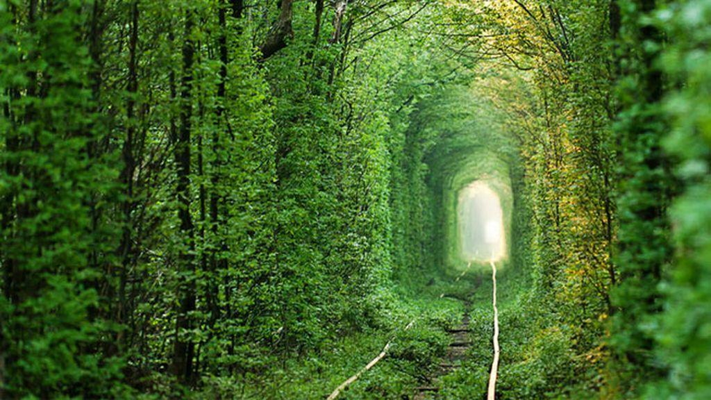 Tunel del amor, Klevan, Ucrania