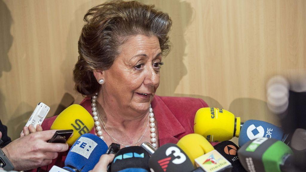 Rita Barberá dice que no dio instrucciones para contratar con Nóos