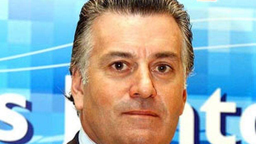 Imagen de archivo del senador y tesorero del PP, Luis Bárcenas. Foto: EFE.