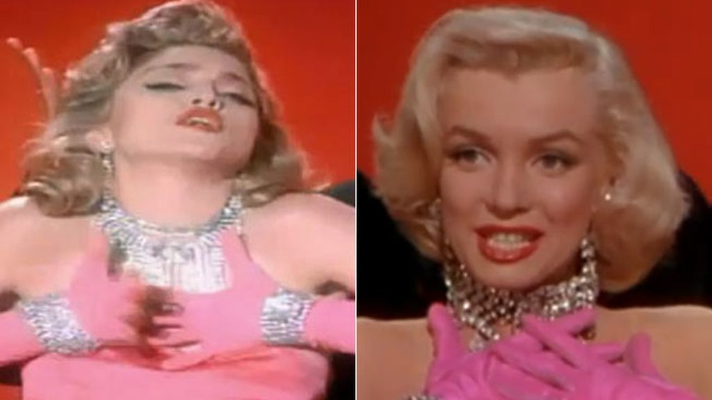 Madonna en 'Material Girl'