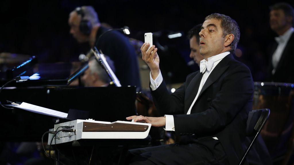 El actor Rowan Atkinson, conocido por su papel de Mister Bean