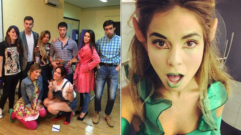 Su sueño es ser actriz, se forma para serlo en Cristina Rota (Madrid)