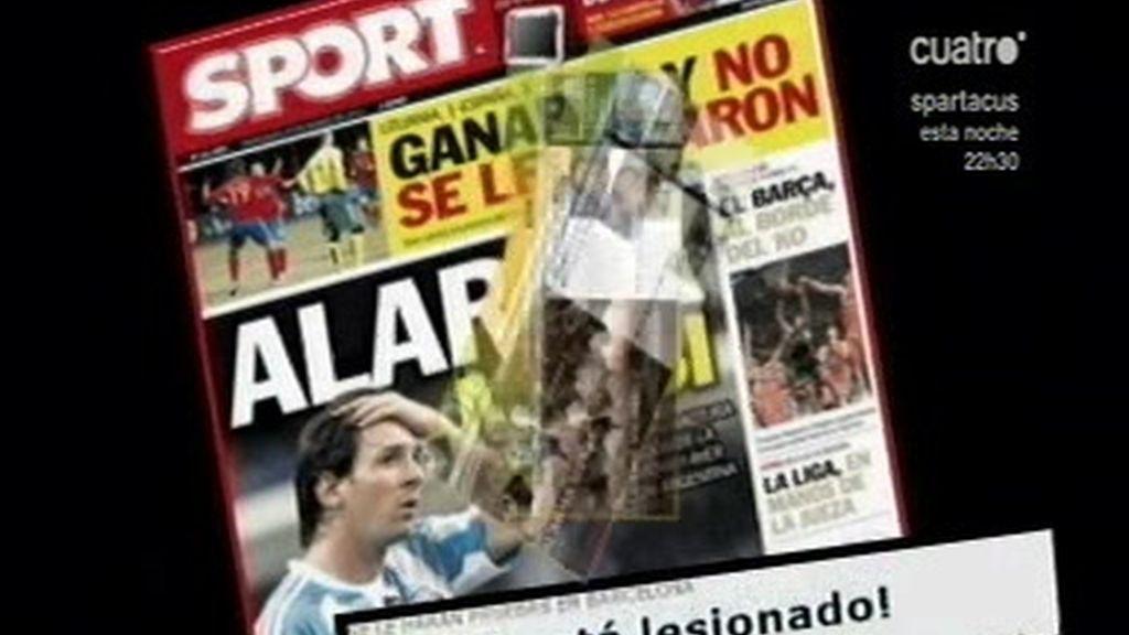 Alarma Messi