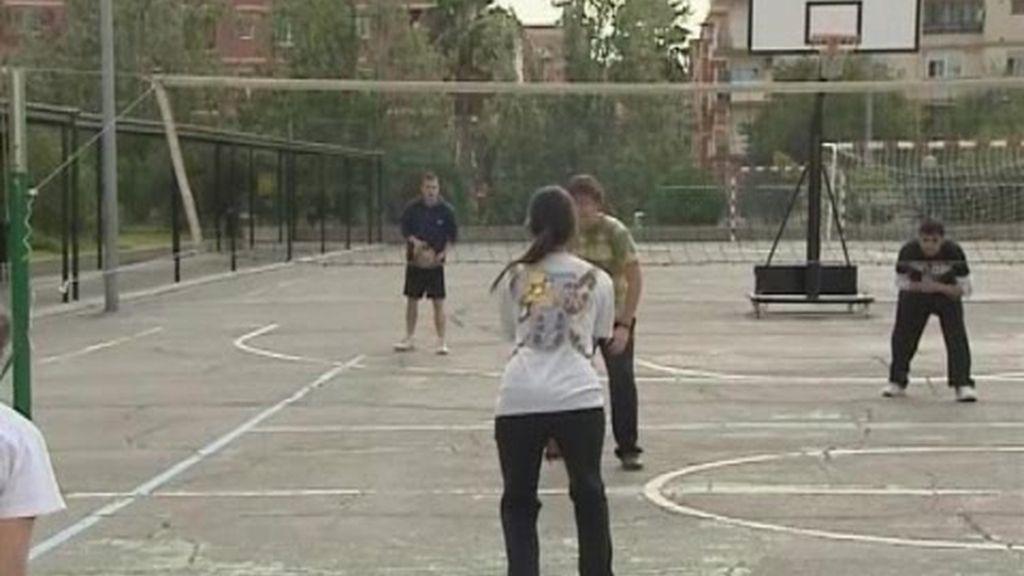Prohibido jugar al baloncesto en Valencia