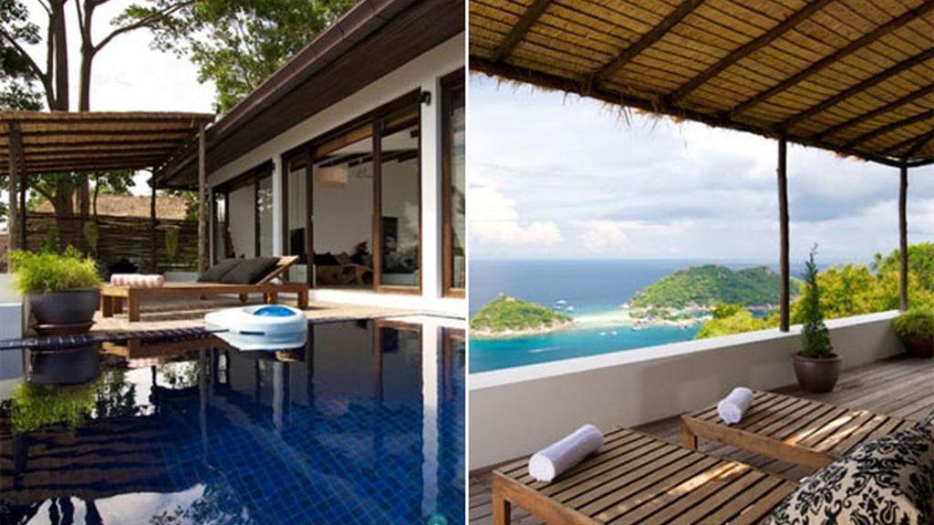 Casa con vistas en la isla de Koh Tao (Tailandia)