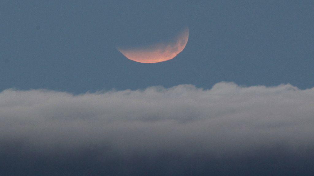 El eclipse desde Tenerife