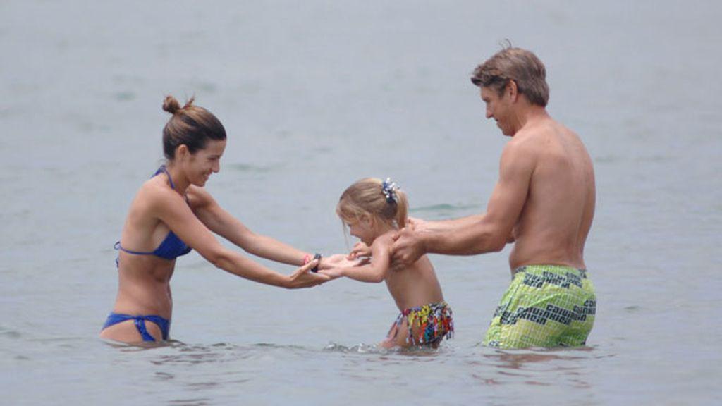 El Cordobés se baña en Marbella
