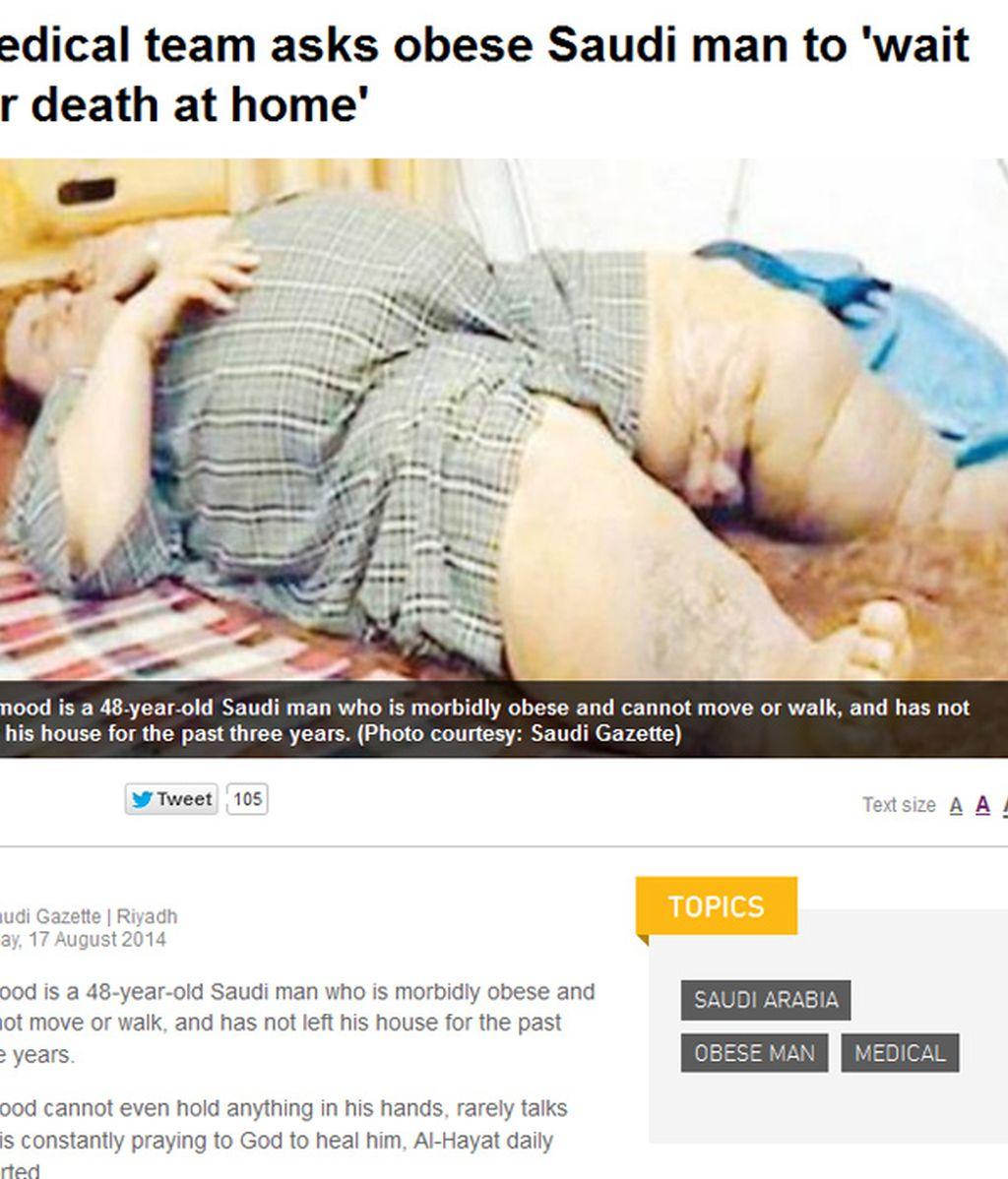Obeso saudí