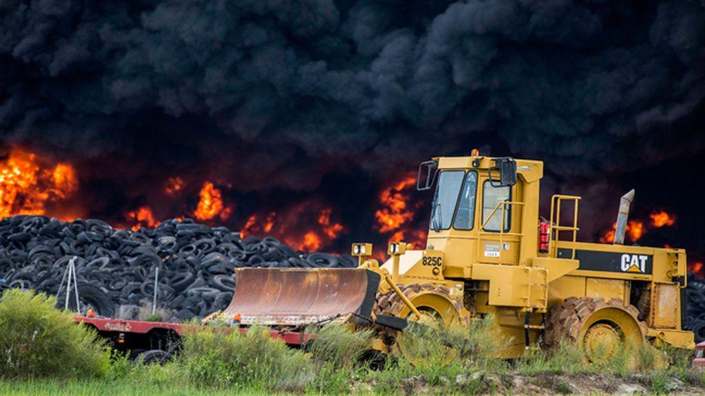 El 'infierno' tóxico de Seseña en imágenes