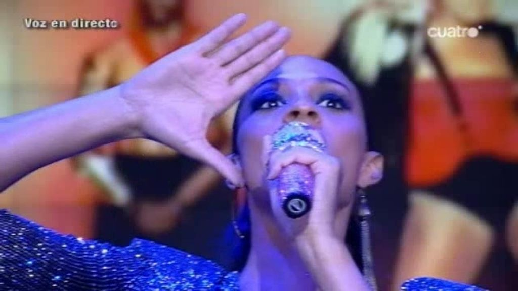 Alesha Dixon nos canta en directo su último single