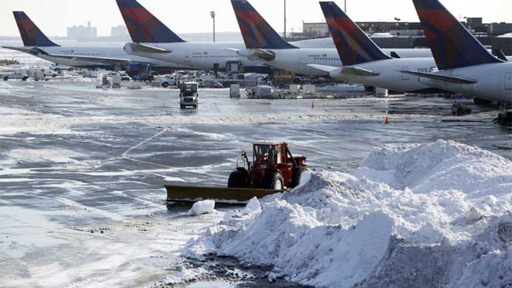 El aeropuerto JFK de Nueva York recupera. poco a poco, la normalidad