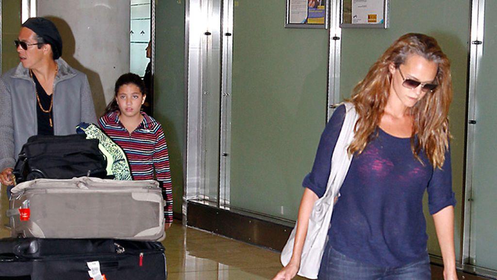 Shaila Dúrcal llega a Madrid