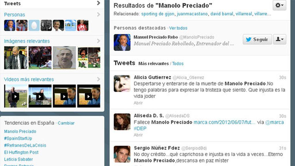 Twitter con Manolo Preciado