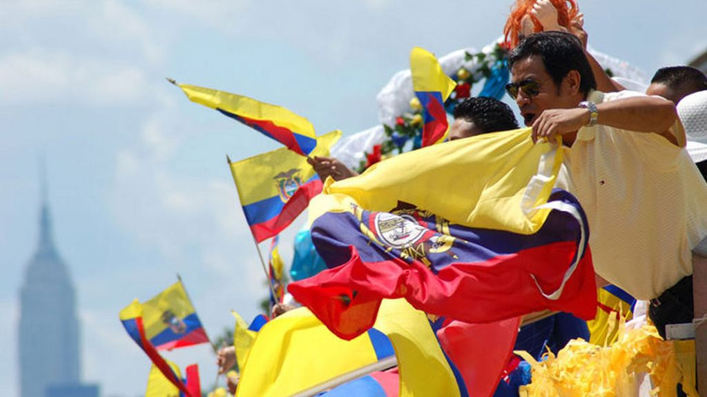 imagen de archivo de ecuatorianos
