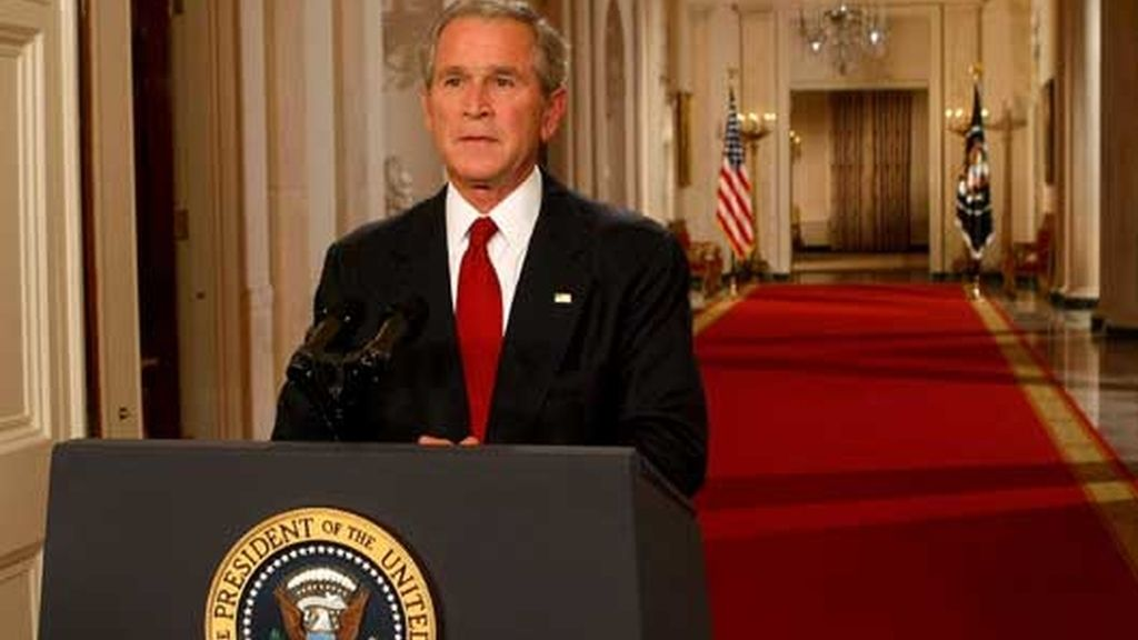 ADVERTENCIA DE BUSH