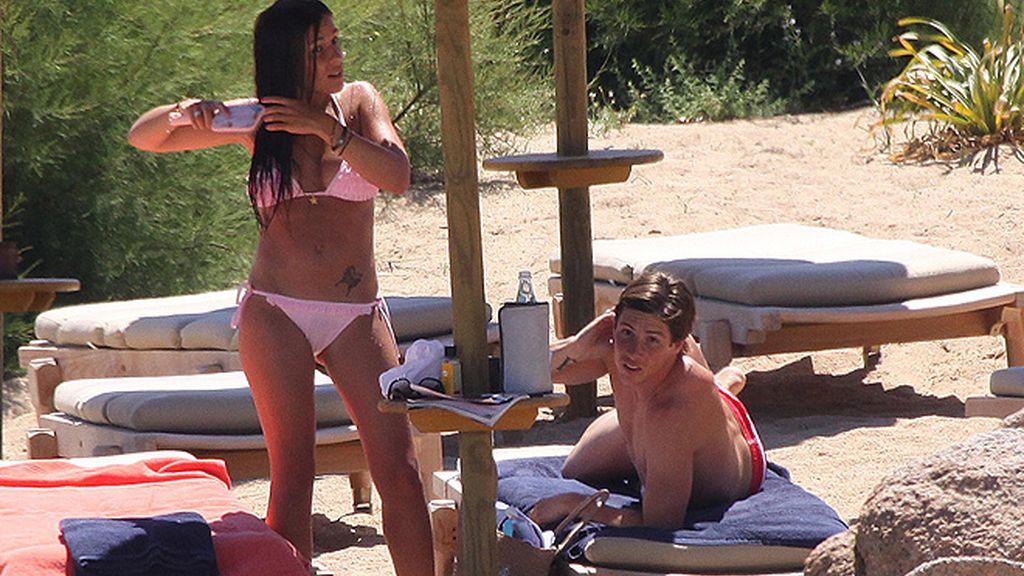 Torres y Olalla se relajan en Cerdeña