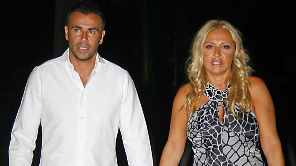 Cristina Tárrega y su marido José María 'Mami' Quevedo