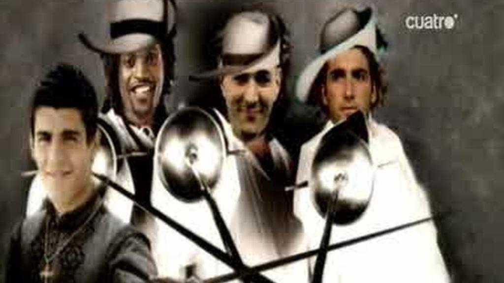 Los mosqueteros del Real Madrid
