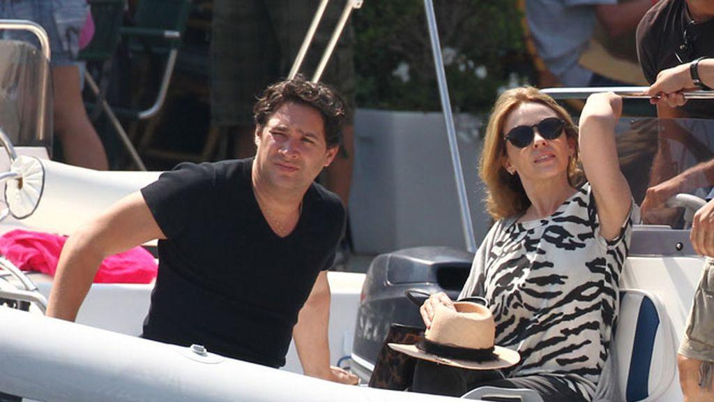 Kylie Minogue, en Portofino