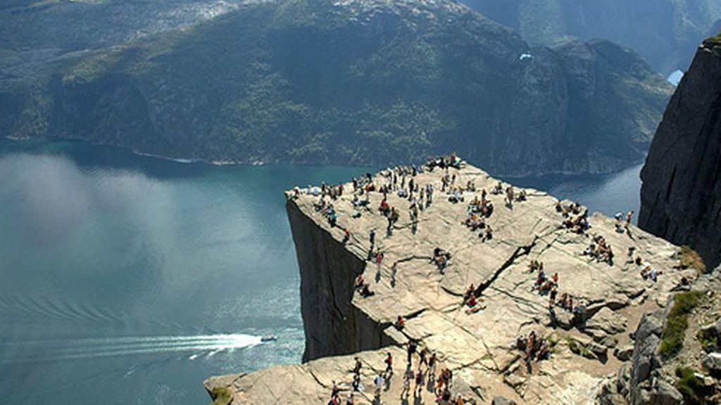 'El Púlpito', en Noruega