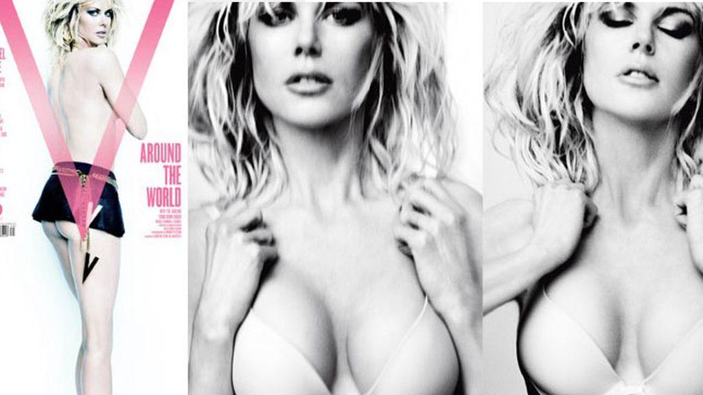 Nicole Kidman, portada de la revista V Magazine.