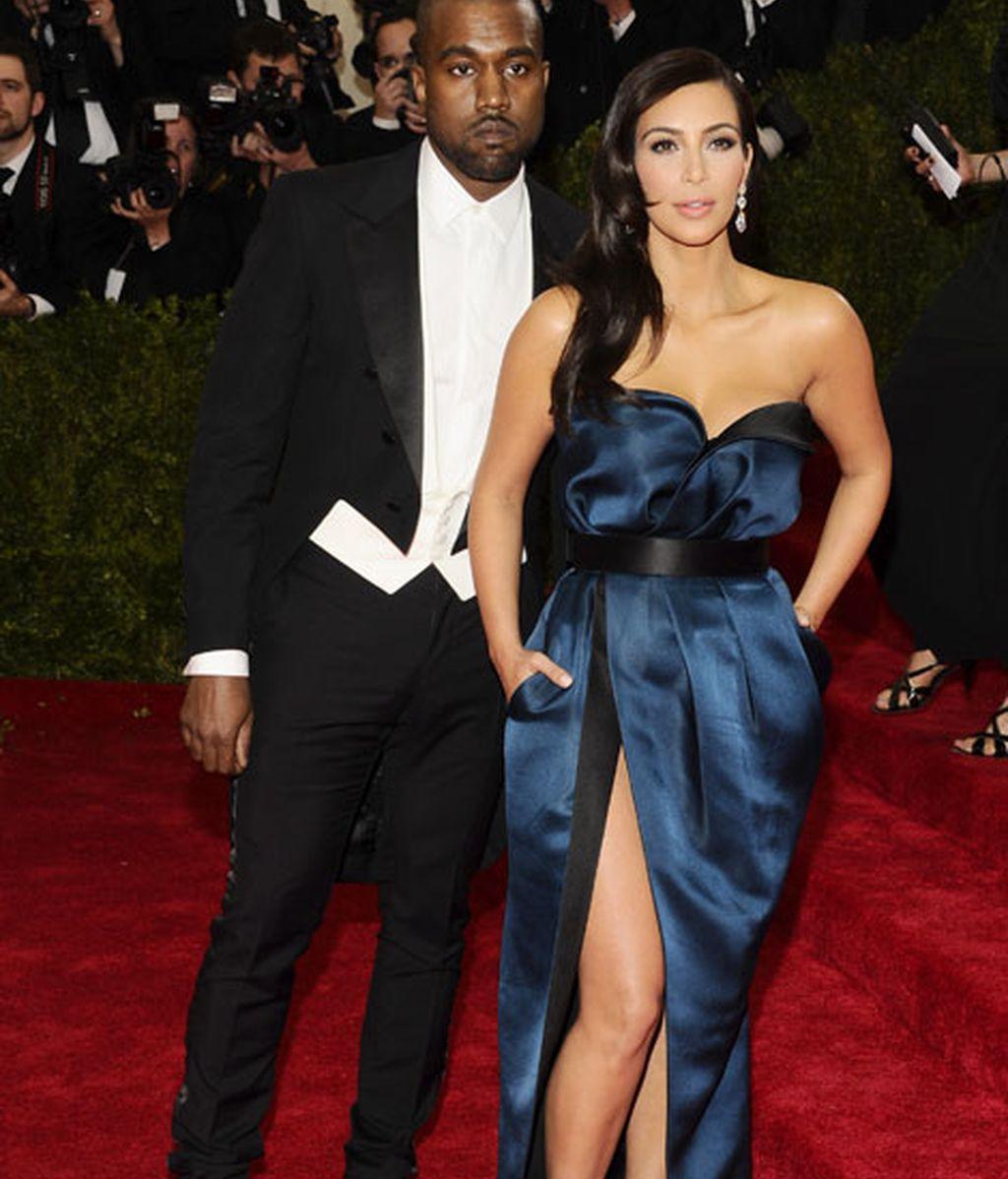 Kanye West y Kim Kardashian, ella de Lanvin