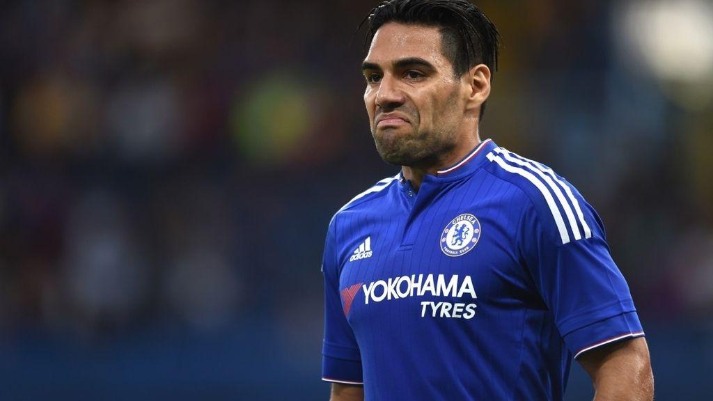 Radamel Falcao, tampoco brilla en el Chelsea
