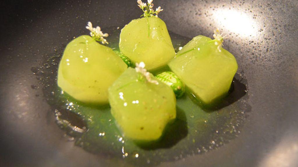 Melón y pepino o Pepino y melón