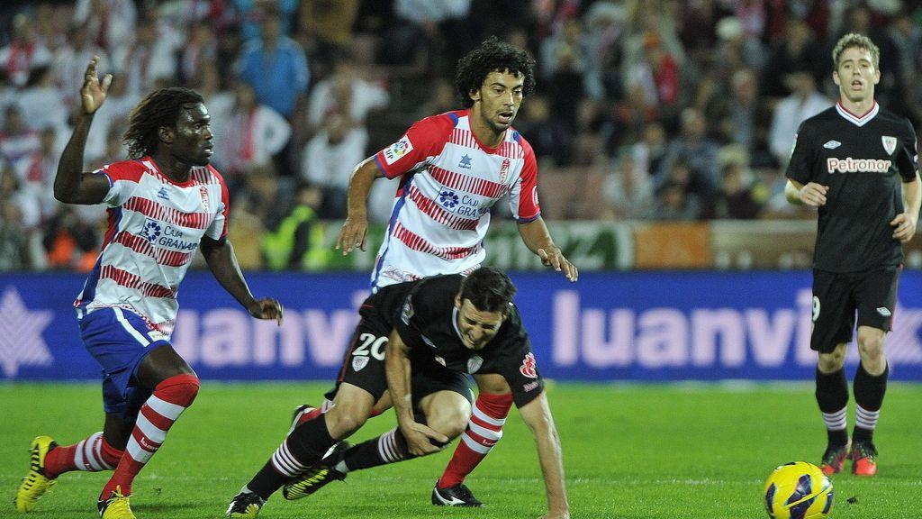 El Athletic juega contra el Granada. Foto: EFE