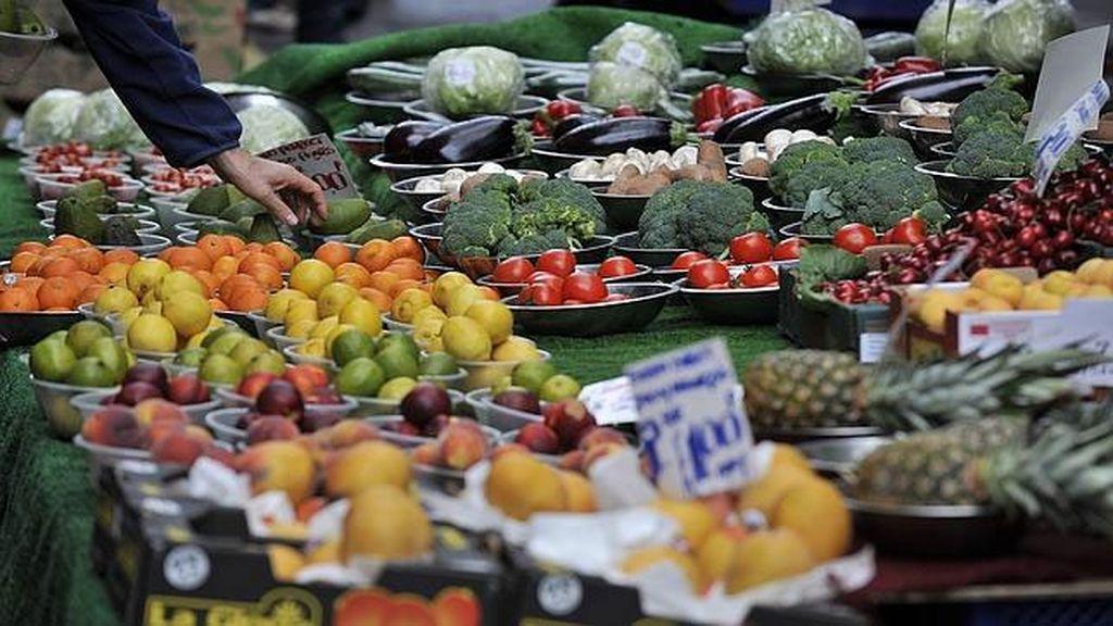 Los alimentos multiplican su precio por 5,5 del campo a las tiendas.