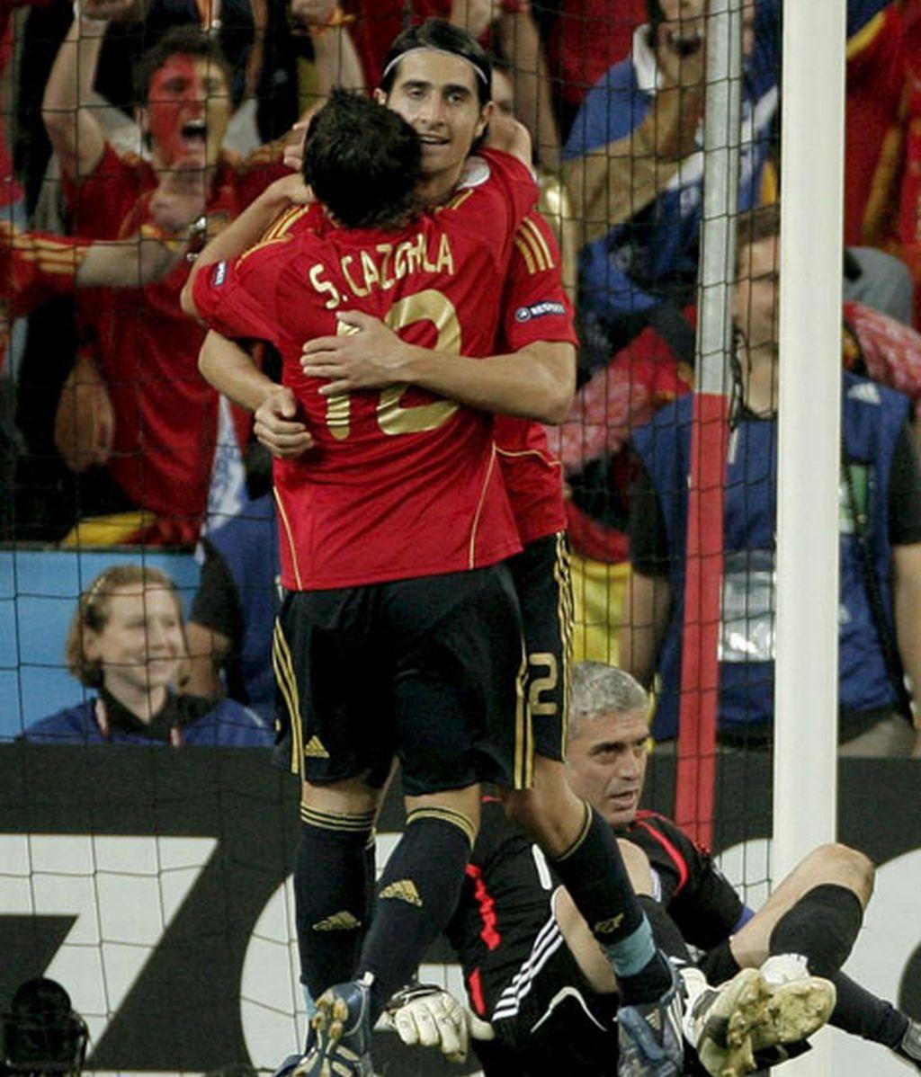 Primer gol de España