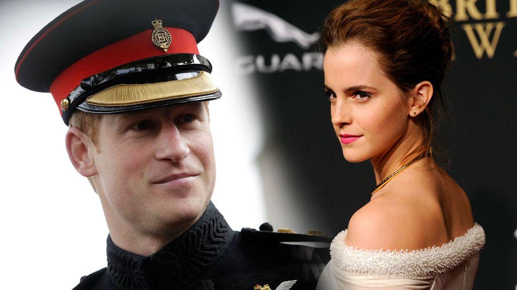 Una revista australiana sostiene que Emma Watson y el príncipe Harry están saliendo en secreto