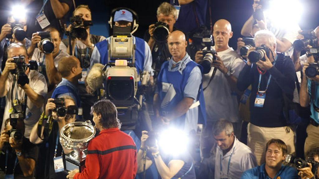 Rafa Nadal centró la atención mediática mundial en Australia
