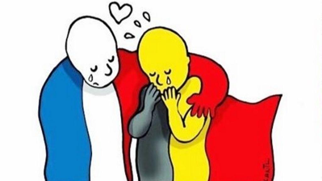Solidaridad en Twitter por los atentados de Bruselas
