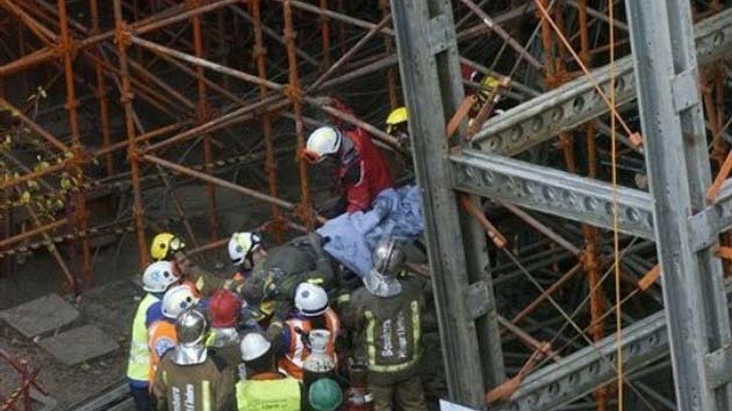 Derrumbe de un viaducto en construcción en Andorra