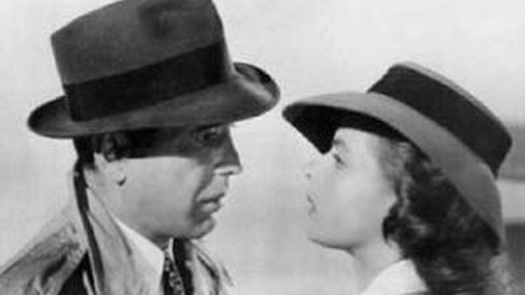 Uno de los fotogramas más famosos del cine es esta escena de 'Casablanca'