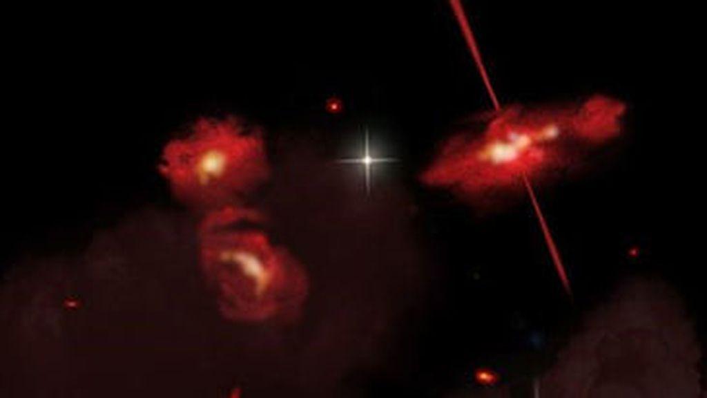 Nuevas galaxias muy rojas en el confín del Universo