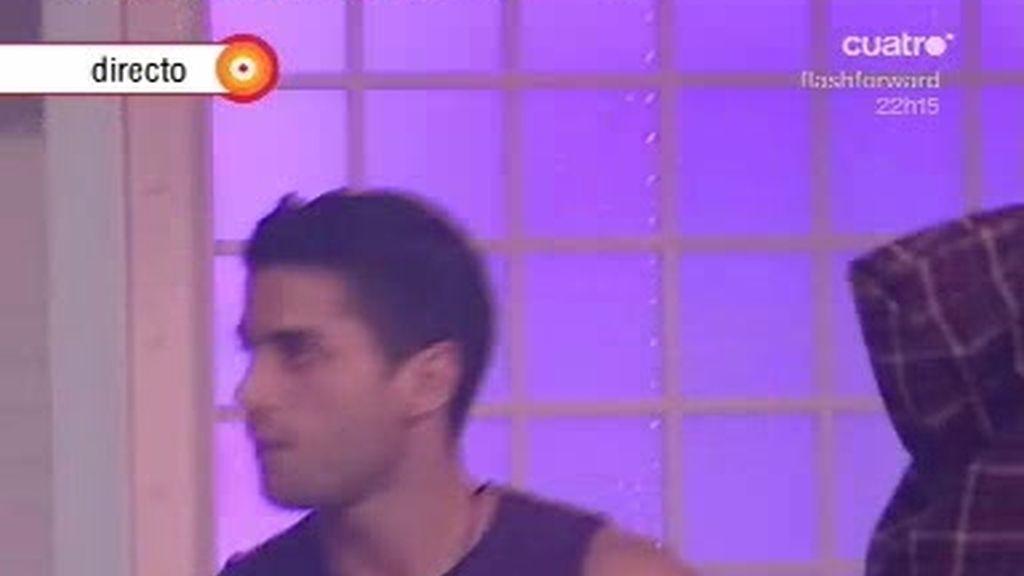 Juanma pierde el desafío con Keko