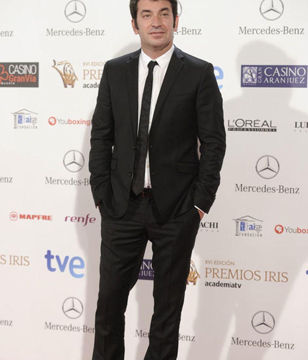 El presentador Arturo Valls en los Premios Iris