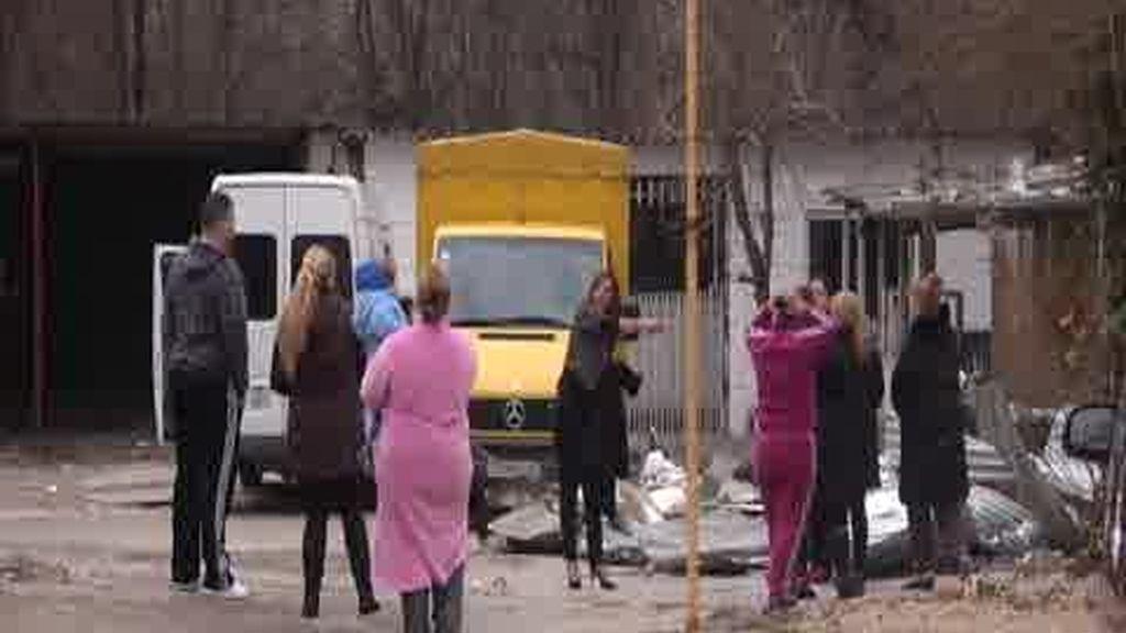 Un aborto durante el desalojo del poblado chabolista en Madrid