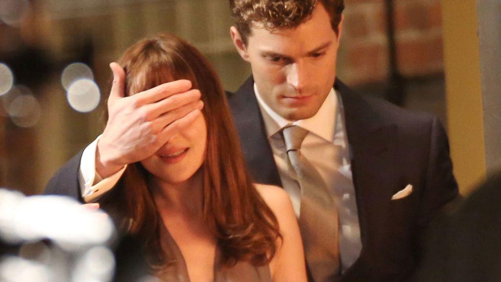 Nuevas imágenes de Dakota y Jamie durante el rodaje
