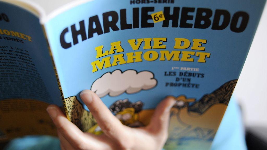 Charlie Hebdo vuelve a utilizar la imagen de Mahoma