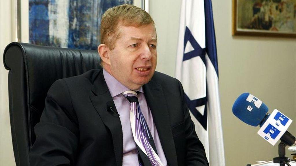 El embajador de Israel en España, Raphael Schutz. EFE/Archivo