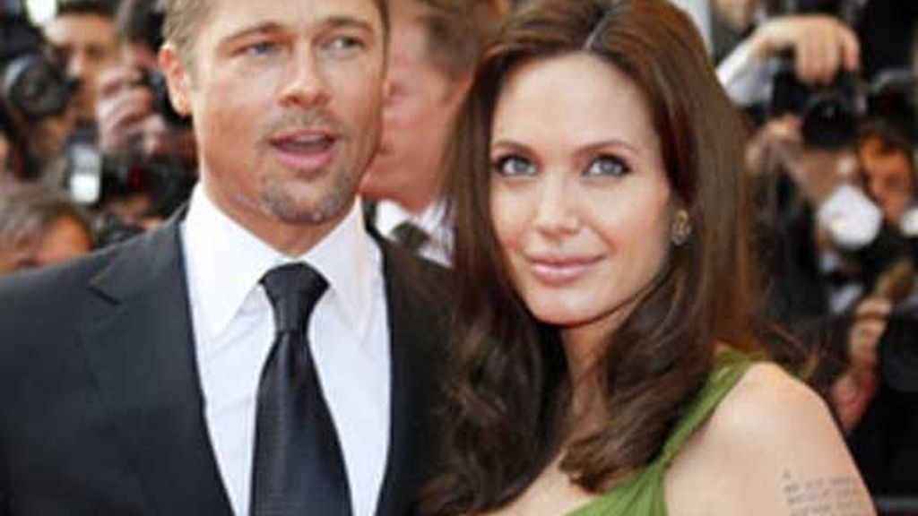 Angelina y Pitt en Cannes