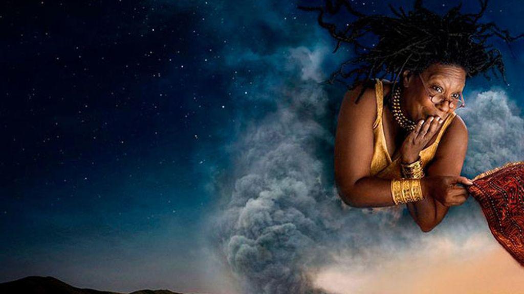 Whoopi Goldberg es el genio de 'Aladín'
